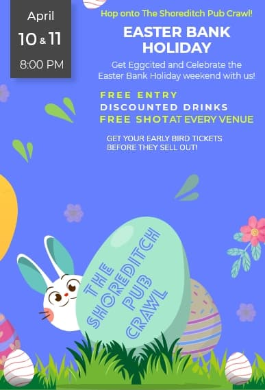 Easter Pub Crawl Poster