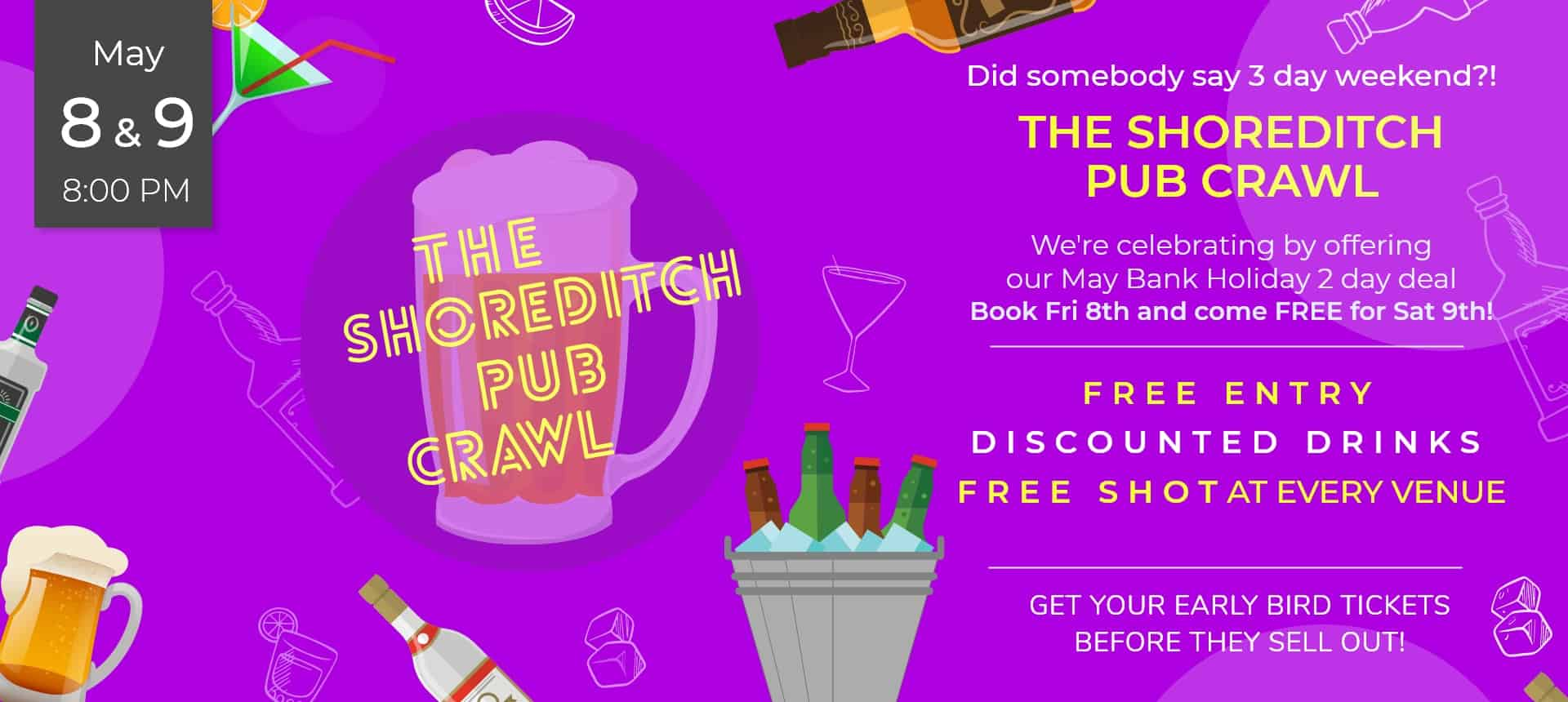 May Bank Holiday Pub Crawl
